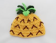 Pineapple Beanie/Hat by catberriz on Etsy, $15.00