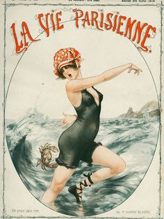 Inspiration and Crafts: La Vie Parisienne - Vintage magazine