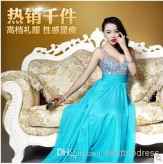 Fiesta Dresses 2014 Sweetheart Crystals Beaded Off Shoulder Bridesmaid Dress | Buy Wholesale On Line Direct from China