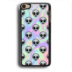 This is a Tie Dye Alien Emoji iPod Touch 6 Case , high flexibility, and thin profile to protect the back and sides of your phone and allows for easy access to all buttons, functions, and ports at the