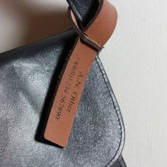 Personalised Leather Luggage Tags