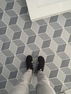 Merola Tile, Concret Rombo Louvre 8-3/4 in. x 8-3/4 in. Porcelain Floor and Wall Tile, FNU9CRLO at The Home Depot - Mobile