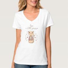 Cute Cat T-shirt: I'm a Cat Person T-Shirt - cat cats kitten kitty pet love pussy