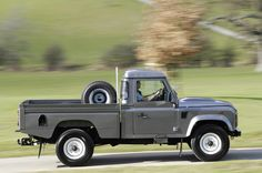 @David Thompson: Did your truck just get jealous? Land Rover Defender 110 Tdi Pick Up