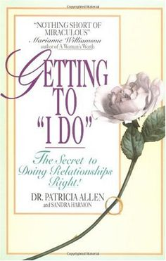 """Getting to """"I do"""""""