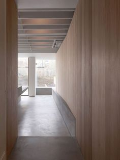 PANELS TO HALLWAY  This was a project about making something extraordinary out of the very ordinary. We were approached by Kate and Ewan Thompson to extend and re-furbish their Victorian terraced house in Shepherd's Bush for a growing family. Our remit was very conventio...