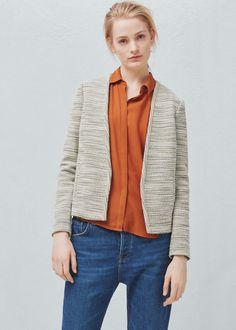Cotton jacket   MANGO