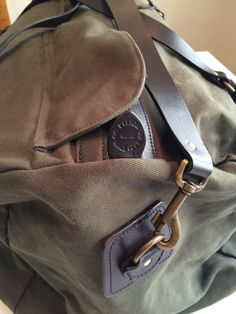 FILSON DUFFLE BAG - LARGE, Twill in Home, Furniture & DIY, Luggage & Travel Accessories, Luggage   eBay