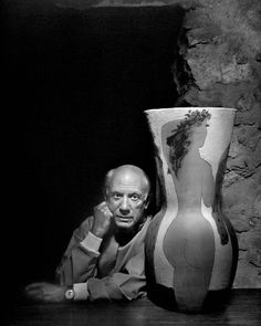 """It takes a long time to become young"" Pablo Picasso by Yousuf Karsh"
