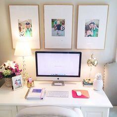 Cute office.