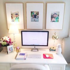 Cute office.