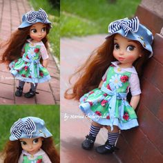 Doll clothes for Disney animator dolls