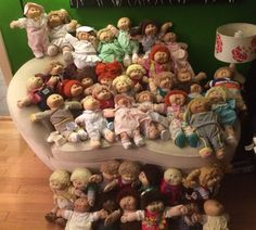 40 Vintage Cabbage Patch Doll CPK Lot Mist Complete Shoes Clothes #Dolls
