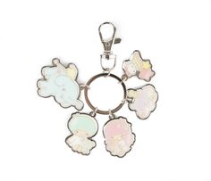 Check out Little Twin Stars Keyring: Five's a Charm from Sanrio