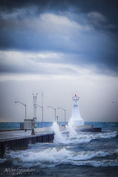 Hamilton Lighthouse by Mike Goodwin, via 500px