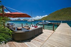 Tour the Tower House in Frenchman's Cay, British Virgin Islands | 2016 | HGTV >> http://www.hgtv.com/design/ultimate-house-hunt/2016/waterfront-homes/waterfront-homes-the-tower-house-in-frenchmans-cay-british-virgin-islands?soc=pinterest