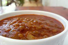 מרק עדשים ירוקות מרק סמיך חם מחמם את כל הגוף כזה טעיםםם