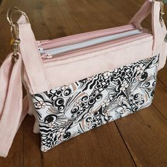 Pochette triple ChaChaCha cousue By Flo - Patron Sacôtin : ChaChaCha
