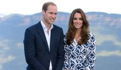 William e Kate, in posa alle Blue Mountains