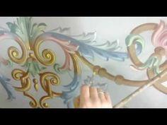 Süslemede Rokoko Tekniği - YouTube