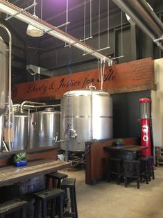 """Liberty and Justice for Ale"" – brewery."