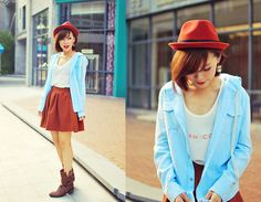 Like the little boy (by MAGIC  YANG) http://lookbook.nu/look/4256879-Like-the-little-boy // น่ารักจัง >