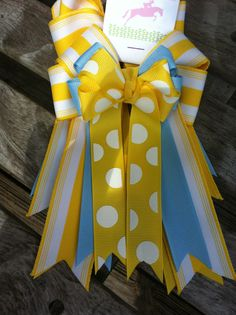 Equestrian hair Bows  a pair 2 sold together by BowstotheShows