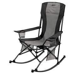 Quest Quad Rocker Chair - Portable Rocking Chair with cup holders
