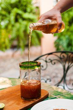 Michelada Recipe – A Spicy Mexican Beer Cocktail with a Kick via @grantourismo