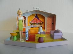 Barbie Family Deluxe House Hallmark Keepsake Set of Two Ornaments, 2007 - I bought this set on E-Bay.