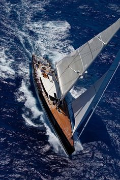 Sailing Yacht P2 designed by Philippe Briand and built by Perini Navi
