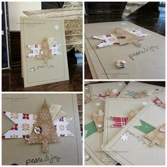 Hello,   I am here much earlier today with a whole pile of cards I have made this week. I stuck with three(ish) variations on one basic de...