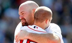 This brought me to tears :( Will forever miss Youk. (Kevin Youkilis, Dustin Pedroia, Boston Red Sox)