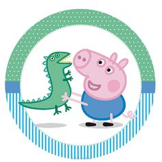 Inspire sua festa » George Pig – Kit digital gratuito