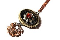 Downton Abby Style Necklace by BeJeweledNH on Etsy, $38.00