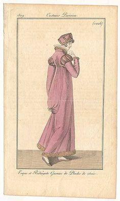 Journal des Dames et des Modes, 1809.  Beautiful!