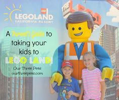 A Parent's Guide to Taking Your Kids to Lego Land - from @Michelle Thomas (Our Three Peas)