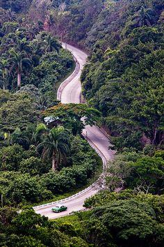 Road to Baracoa, Cuba.