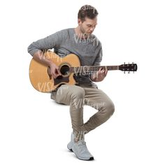 A man playing guitar Human Reference, Drawing Reference Poses, Anatomy Reference, Photo Reference, Art Reference, Guitar Drawing, Guy Drawing, Cut Out People, Anatomy Poses