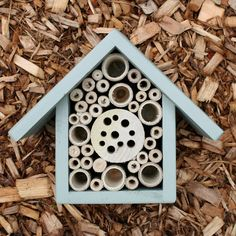 still really happy with my bee house. survived a Canada winter just fine and is already vacant for new renters. - USA Mason Bee House and Insect Home, One Tier, in 'Mulberry'' Ladybug House, Beekeeping For Beginners, Bug Hotel, Mason Bees, Bee House, Garden Animals, Bee Keeping, Projects To Try, Craft Projects