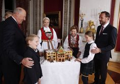 Christmas photos from the Norwegian Royal Family.17/12/2014