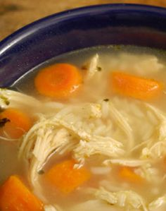 Diabetes Recipes...easy chicken soup