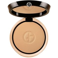 Giorgio Armani Luminous Silk Powder (240 BRL) ❤ liked on Polyvore featuring beauty products, makeup, face makeup, face powder, beauty, apparel & accessories, beige and giorgio armani