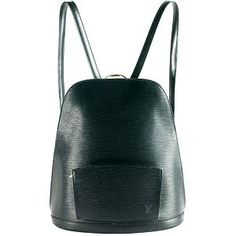 Louis Vuitton Epi Leather Gobelins Backpack- i can put this with my long cardigan, loose biggie shirt, a stroking color tight and i'm good to go