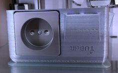 TU Delft Assistant Professor Reimagines the Power Outlet Via 3D Printing http://3dprint.com/49681/3d-print-power-outlet/