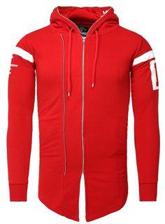 Akito Tanaka Sweat Jacket Ashitaka red
