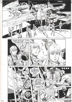 Star Wars A New Hope Special Edition Adaptation #3 pg. 18 by Eduardo Barreto, Al Williamson & Carlos Garzon (Dark Horse 1997) Comic Art