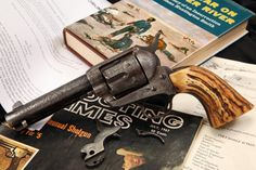 Johnson County Invader J. D. Mynett's Engraved Colt Quickdraw Model Single Action Army Revolver