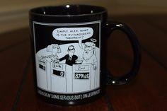 Gillmania Mug God On Jeopardy Show Mug Cup Great Used Condition Ceramic #AmericanGreeting