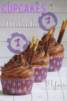 Cupcakes Mikado - elsecretoendulzado.blogspot.com.es